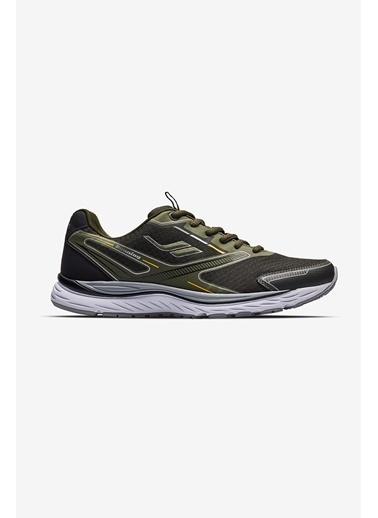 Lescon Space Runner 2 Koşu Haki Erkek Spor Ayakkabı Yeşil